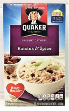 Quaker Raisins & Spice Instant Oatmeal 15.1 oz Hot Cereal