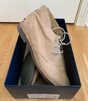 COLE HAAN Orson Milkshake Light Brown Leather Chukka Ankle Boots Mens Size 10.5