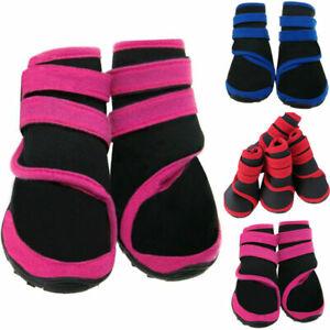 Waterproof Non-slip Puppy Pet Dog Shoes Boots Booties Socks Autumn Winter Warm