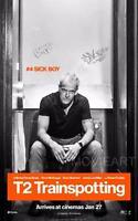 T2 TRAINSPOTTING 'SICK BOY' MOVIE POSTER FILM ART A4 A3 PRINT CINEMA