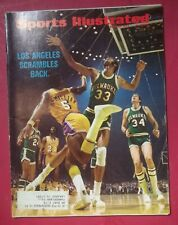 1972 Sports Illustrated April 24 Basketball Los Angeles Scrambles Back Milwaukee