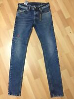 Mens Diesel SLEENKER LYOCELL STRETCH Denim 084UU BLUE Slim W30 L32 H6 RRP£150