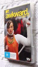 Awkward : Season 1 (DVD, 2-Disc Set) R-4, LIKE NEW, FREE POST WITHIN AUSTRALIA