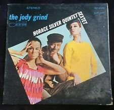 The Jody Grind Horace Silver Quintet / Sextet LP Stereo Blue Note BST 84250