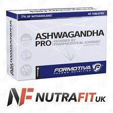 FORMOTIVA ASHWAGANDHA PRO energy antioxidant stress control relaxation 60 tabs