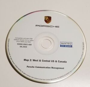 03 2004 PORSCHE CAYENNE S SPORT NAVIGATION CD WEST CENTRAL CA AZ TX IA CO CANADA