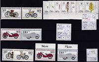 Brd Jahrgang 1983-84 postfrisch Lot : Mi.Nr.1168-71(2x) und 1225-8 (2x)