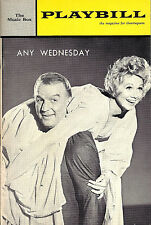 "Barbara Cook ""ANY WEDNESDAY"" Don Porter / Barbra Streisand '65 Broadway Playbill"