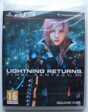 LIGHTNING RETURNS FINAL FANTASY XIII PS3 PLAYSTATION THREE ITALIANO NUOVO