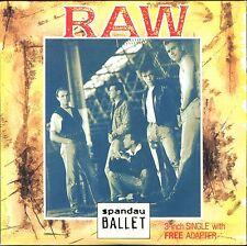 SPANDAU BALLET - RAW - 3 INCH 8 CM CARDBOARD SLEEVE CD MAXI