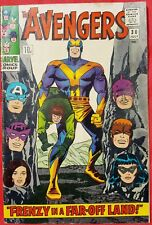 AVENGERS 30 Marvel Silver Age 1966 Scarlet Witch & Quicksilver quit the Avengers