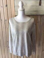 Joie Sweater Animal Print Gray Size XS Long Sleeve