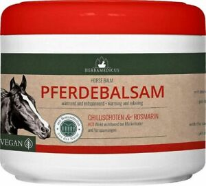 Pferdebalsam wärmend - extra stark 500ml Massagegel Pferdesalbe Wärme Balsam HOT