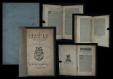 1577 De abditis rerum causis libri duo, postremo ab ipso authore... Jean Fernel