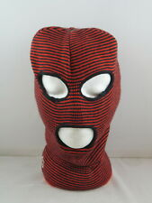 Burton Balaclava - Red and Black Stripes - Adult One Size Fits All