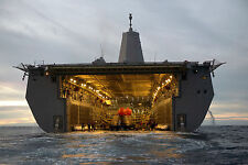 8x12 Photo The Orion Spacecraft Sits in the Well Deck of the USS Anchorage