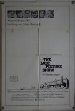 THE LAST PICTURE SHOW FF ORIG 1SH MOVIE POSTER JEFF BRIDGES ELLEN BURSTYN (1971)