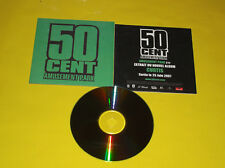 "CD PROMO MONOTITRE 50 CENT ""AMUSEMENT PARK"""