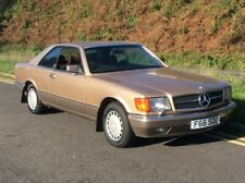 1988 MERCEDES BENZ W126 420 SEC 4.2 V8 FULL MB SERVICE HISTORY COUPE 2 OWNERS