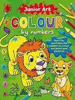 **NEW** - Pirate: Colour By Numbers (Junior Art) (Paperback) 1841358576