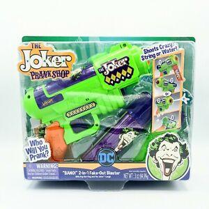 New DC The Joker Prank Shop 2020 BANG 2-in-1 Fake Out Blaster Batman Villian