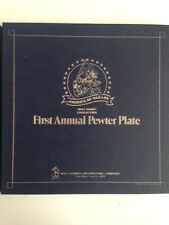 Mickey Bicentenial  Pewter Plate Limited Edition NEW  (store dead stock)