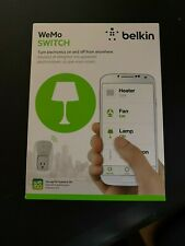 New - Belkin WeMo Wi-Fi White Switch Smart Plug