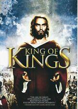 "NEW DVD  "" King Of  Kings "" Jeffrey Hunter, Siobhan McKenna, Hurd Hatfield"