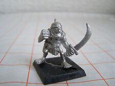 WARHAMMER Fantasy Orchi & Goblin Orco LANCIA Chukka Commander con spada (fuori catalogo)