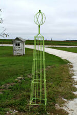 """Large 72"""" Sally Topiary Trellis - Wrought Iron Structure in 3 Sizes"""