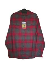 ORVIS BNWT Heavyweight Flannel Shirt Plaid Rio Red sizes M , L ,  XL , XXL