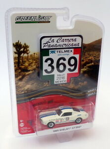 Greenlight 1/64 Scale 13260-D - 1965 Shelby GT350 - #369 Mexico