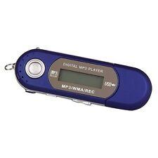 4GB Musik MINI LCD MP3 WAV Player FM Stick fuer Samsung Chip GY V5E6