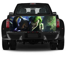 Truck Tailgate Graphics The Joker and Harley Vinyl Decal color Sticker Wrap