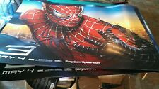 "The Amazing SPIDER-MAN 3 VENOM 60""x46""theater movie  PROMO Poster GIANT SIZE!!!!"