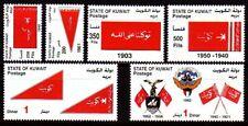 Kuwait 2005 ** Mi.1824/29 Historische Flaggen Historical Flags Wappen Crest