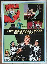 BRICK BRADFORD IL TESORO DI TOOLEE TOOEE collana gertie daily 137 comic art 1983