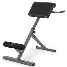 Abdominal Bench - Adjustable Abs Back Hyper-Extension Exercise Roman Chair