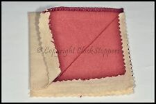 Jewellery Polishing Cloth Rouge Impregnated Silver Brass Gold Buffing Rings 7""