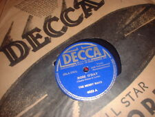 78RPM Decca 4023 The Merry Macs, Rose O'Day / By-U, By-O  V to V-