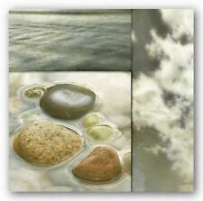 FLORAL ART PRINT Zen Elements II Donna Geissler