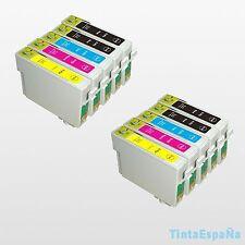 10 Cartuchos NonOem EPSON T0715 STYLUS SX 100 SX 110 SX 115 SX 200 SX 205 SX 209