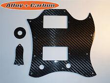 Gibson SG Standard Kit Pickguard Truss Rod Cover REAL Carbon Fiber 4 items