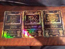 Ancient Pokemon Card Set Rare Glurak Bisaflor Blastoise GX Ex Megabeutel
