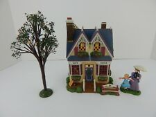 Dept 56 New England Village Verna Mae's Boutique Complete Set #56626