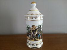Pot à pharmacie  Porcelaine de LIMOGES  Porcelaine d'art A.VALETTE