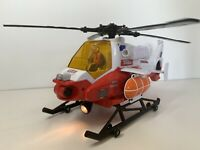 Tonka Toys Power Winch Rescue Helicopter 2007 Lights Up Sounds Blades Rotate VGC