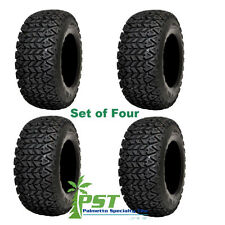 SET of FOUR 22X11.00-10 All Terrain X-Trail Tires for Golf Carts 4 Ply FREE SHIP