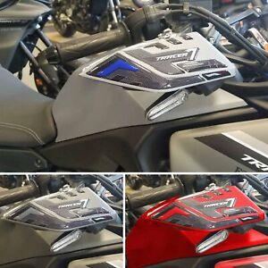Adesivi 3D Protezioni Paramani compatibili con Yamaha Tracer 7 2021