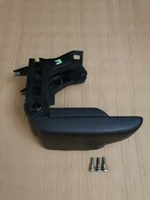 BMW E46 Touring Black Leather Armrest 8213679 &  Mounting Bolts